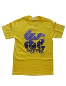 Image of tketht! Yellow logo t-shirt