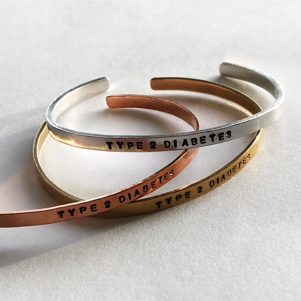 Image of Type 2 Diabetes Bracelet