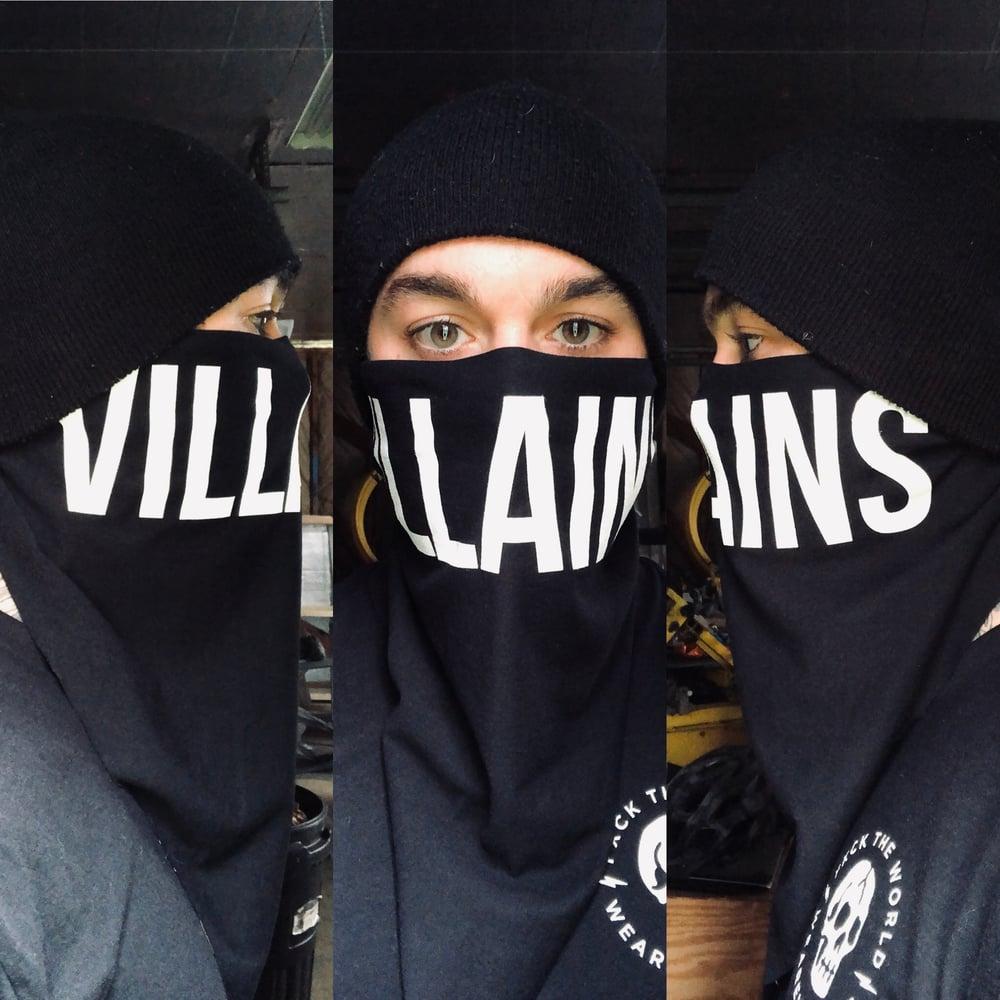 Image of VILLAINS custom bandana