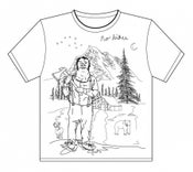 Image of no bikes wilderness t-shirt