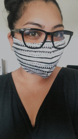 Image of SPANDEX/COTTON FACE MASK * READY-TO-SHIP