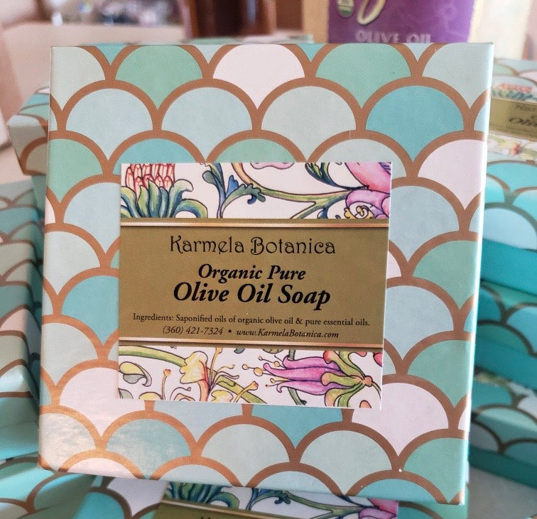 Image of Organic Olive Oil Soap
