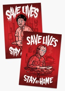 Image of Save Lives - Stay At Home