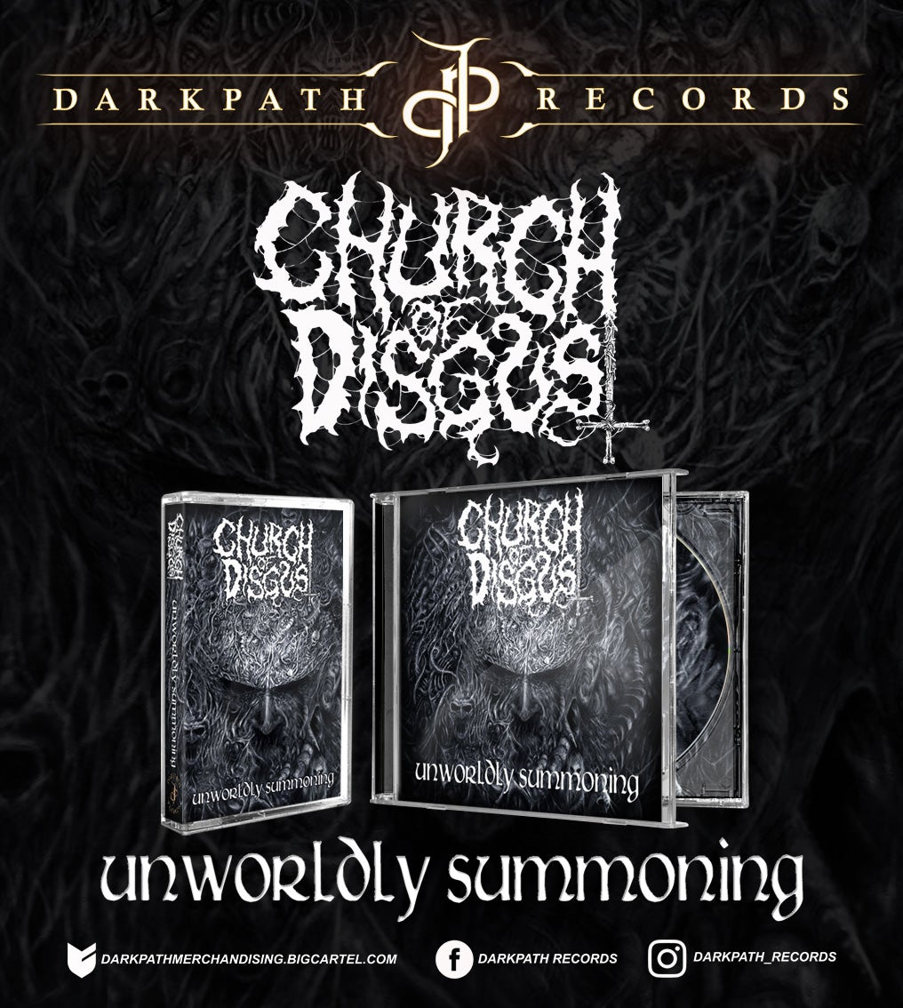 Image of CHURCH OF DISGUST - 2 Albums CD & Tape