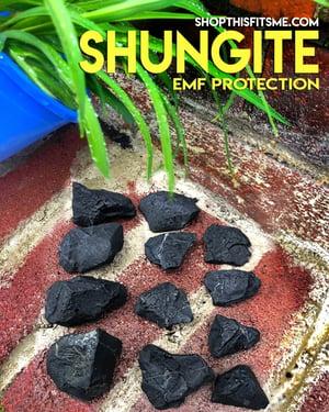 Image of Shungite for EMF Protection