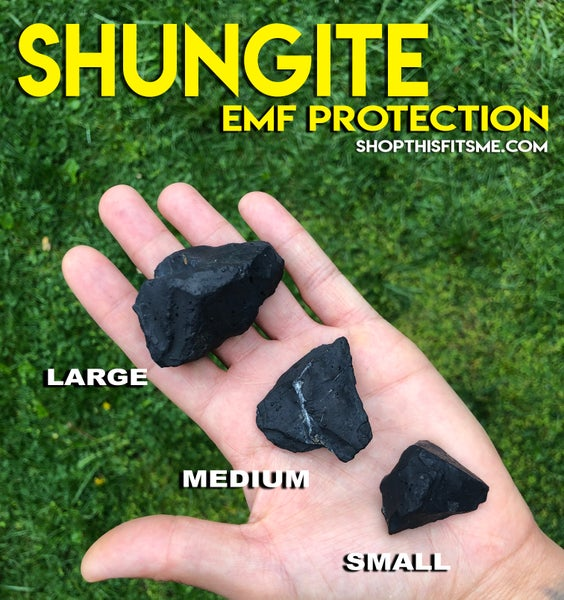 Image of Shungite for EMF Protection