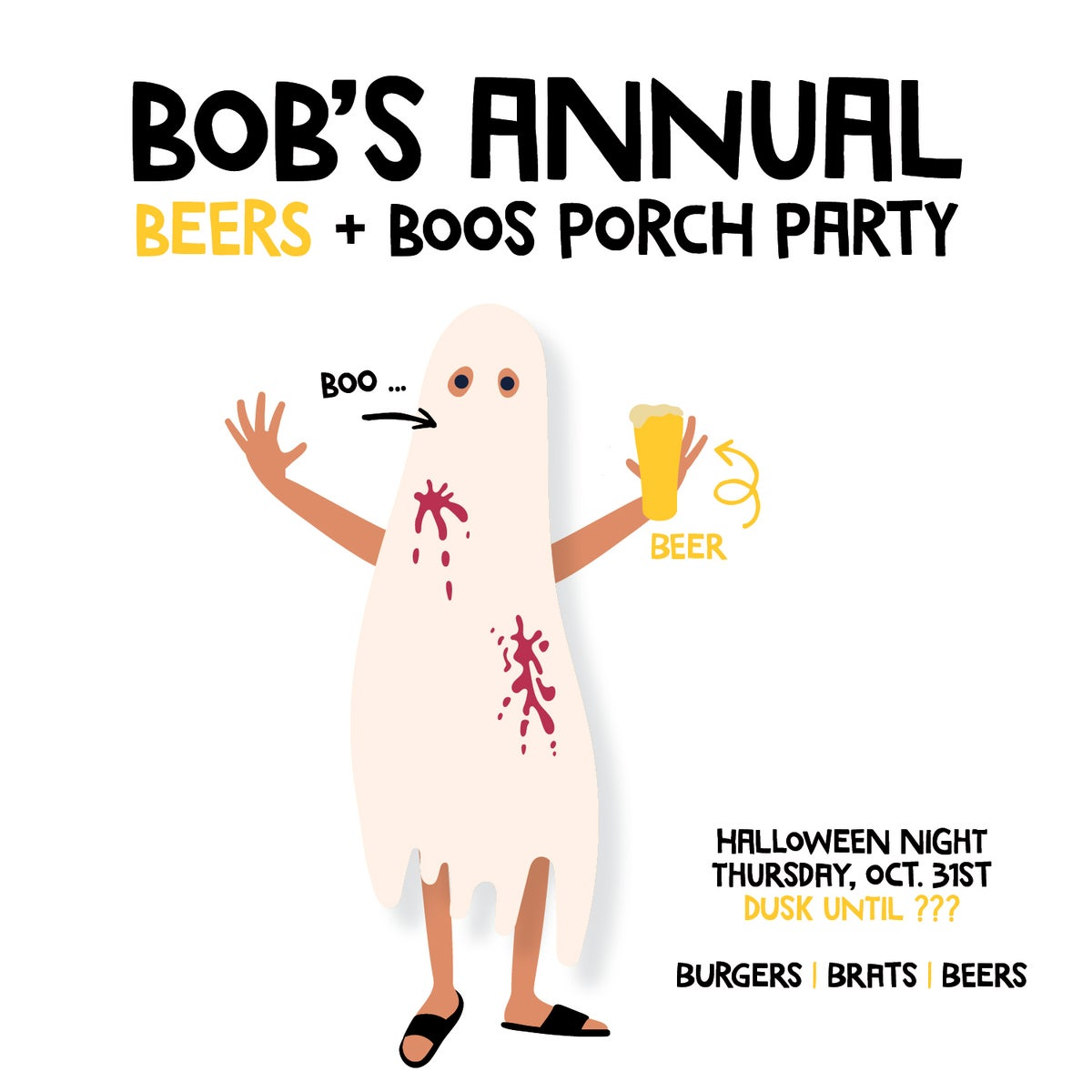 Beers and Boos Halloween