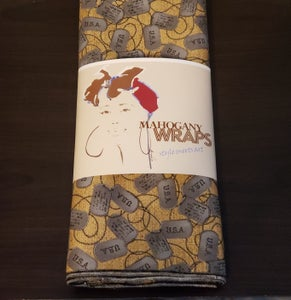 Image of Because Of The Brave Mahogany Wrap