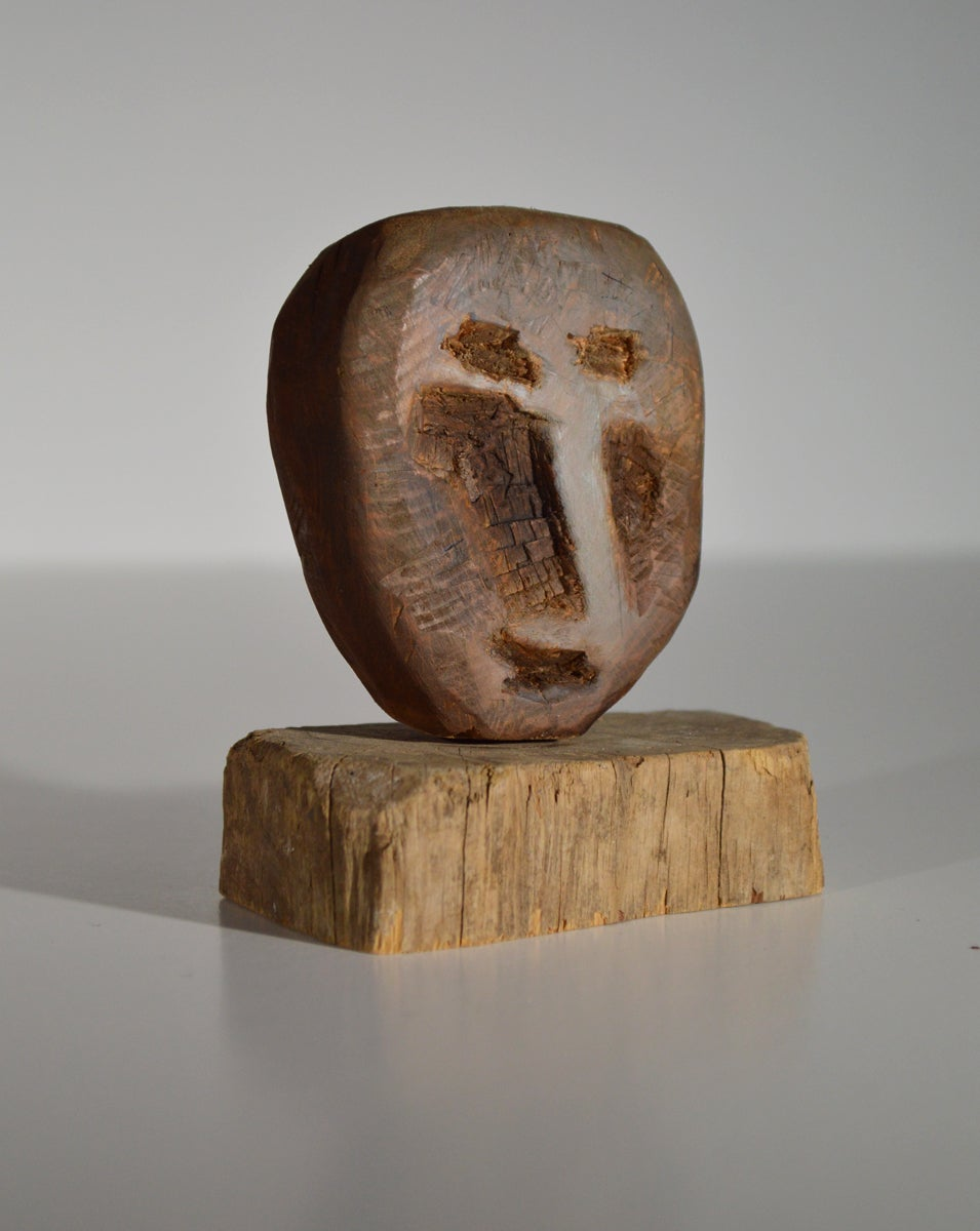 Image of Wood Carving - perdu dans la forêt