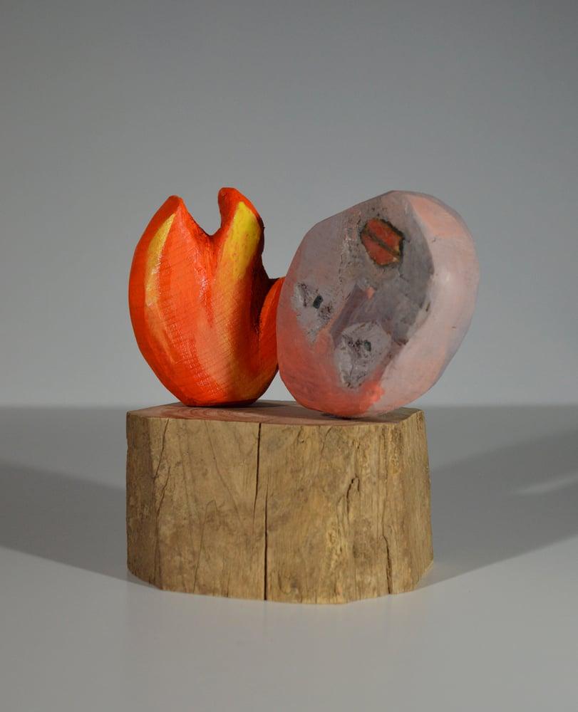 Image of Wood Carving - feu de forêt