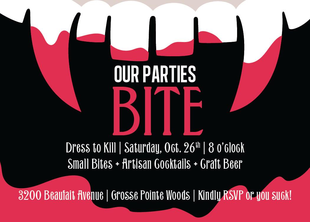Dress to Kill Halloween Party