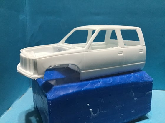 Image of 92 Chevy crewcab resin