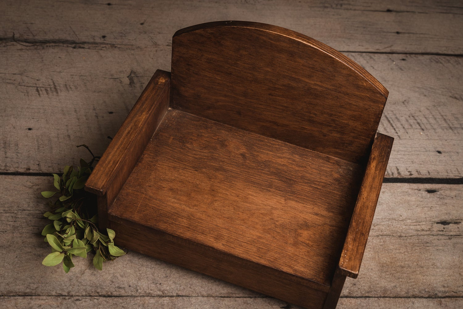 Image of Wooden Mini Couch