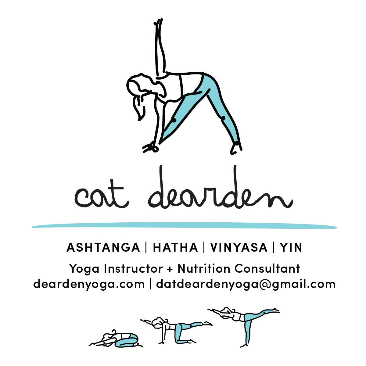 Yoga/Fitness Instructor Business Cards