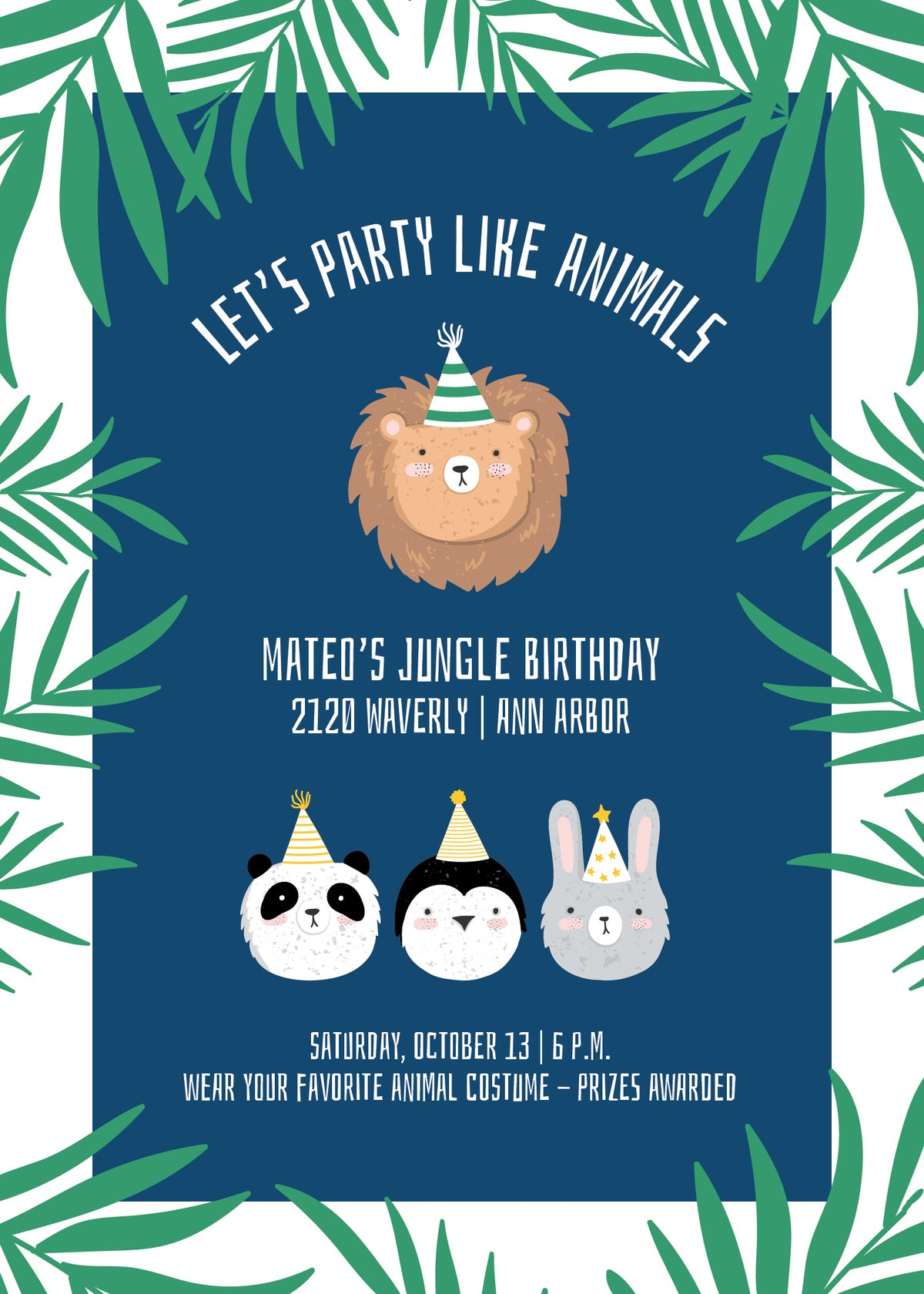 Party Like Animals