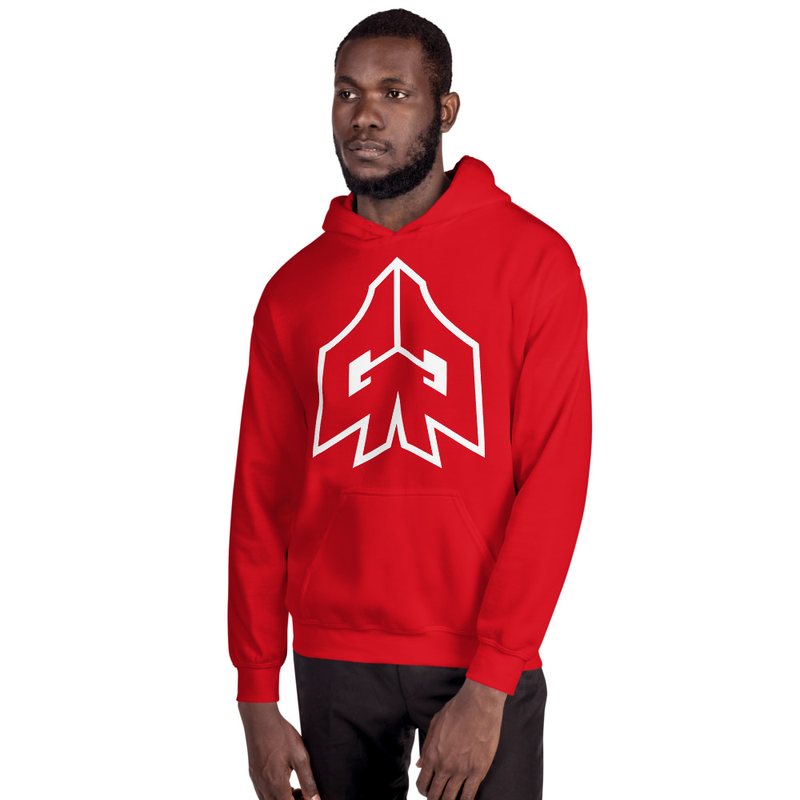 Image of Hoodie w/ GG logo up front