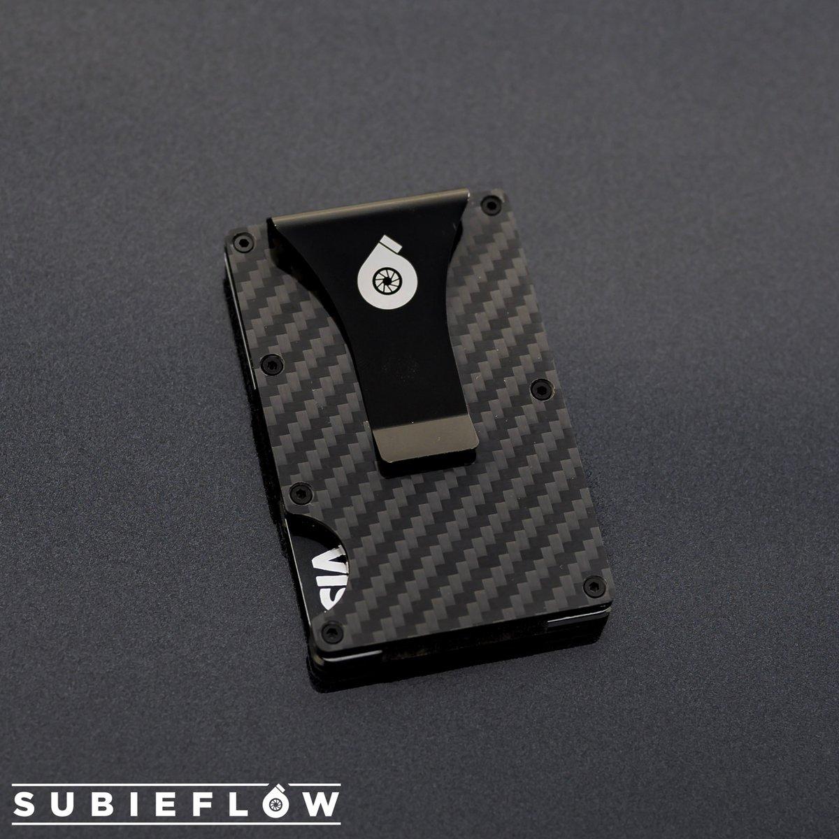 Image of SubieFlow Carbon Fiber Wallet