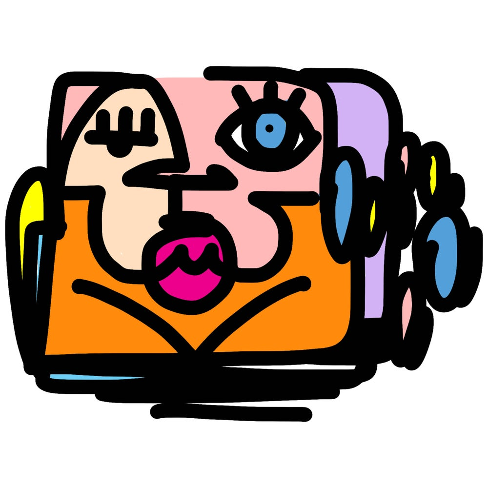 Image of DOODLE FACE 2