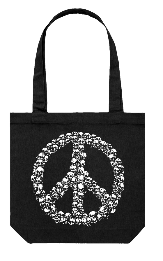 Image of GAVE PEACE A CHANCE TOTE