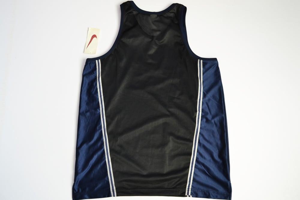 Image of Vintage 1990's Nike Air Big Swoosh Basketball Jersey Sz.XL