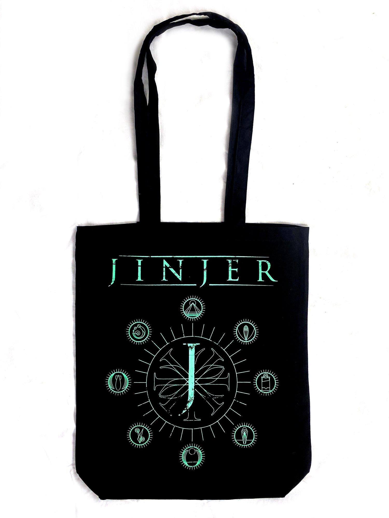 Image of Jinjer Tote Bag - 'Jeometry' design - 100% Cotton