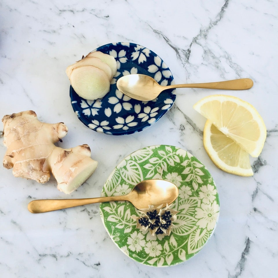 Image of Tea Bag & Spoon Rest: Green or Navy