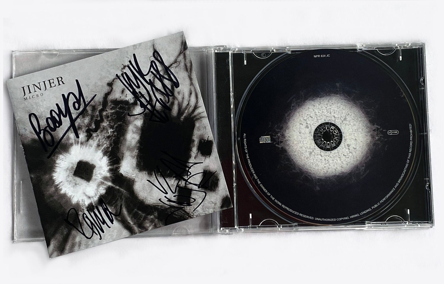 Image of Jinjer - CD (SIGNED) - 'Micro'