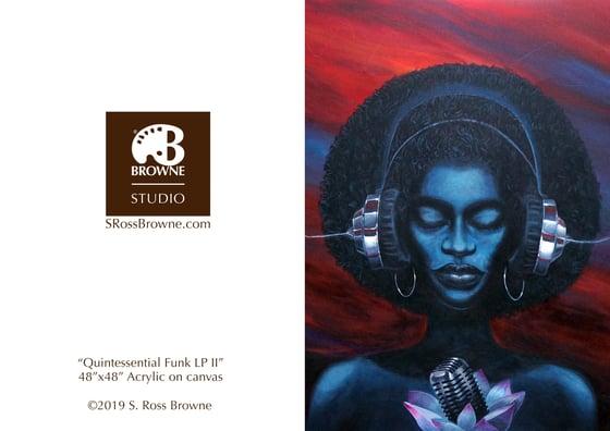 "Image of ""Quintessential Funk LP II"" Greeting Card"