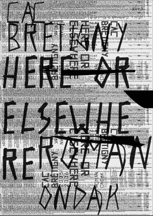 "ROMAN ONDÁK, <br>""HERE OR ELSEWHERE"", WHITE SILKPRINT"