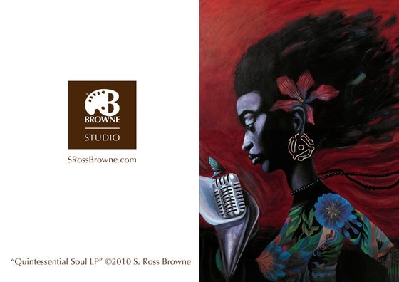 """Image of """"Quintessential Soul LP"""" Greeting Card"""