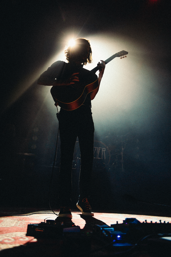 Image of Hozier silhouette