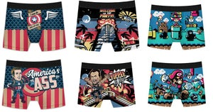 Image of Men's Pundie Undies America's Ass, Yipee Ki Yay and I'm a Grower