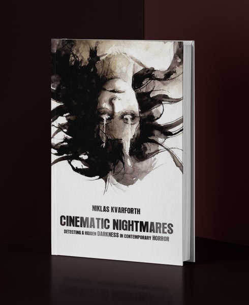 "Image of Niklas Kvarforth ""Cinematic Nightmares"" Paperback BOOK"