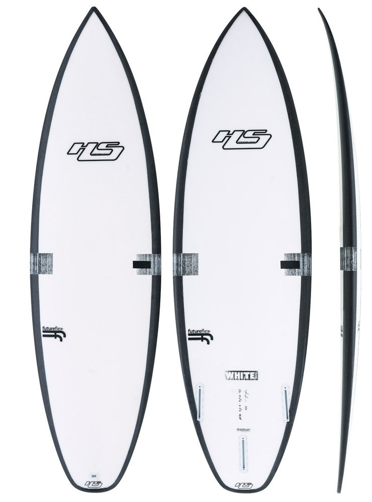 """HS- 5'7"""" WHITE NOIZ – FF (FUTURES) STORE PICKUP ONLY"""