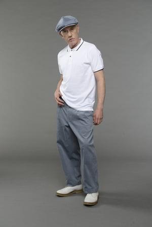 Image of English Polo Shirt - White £45.00