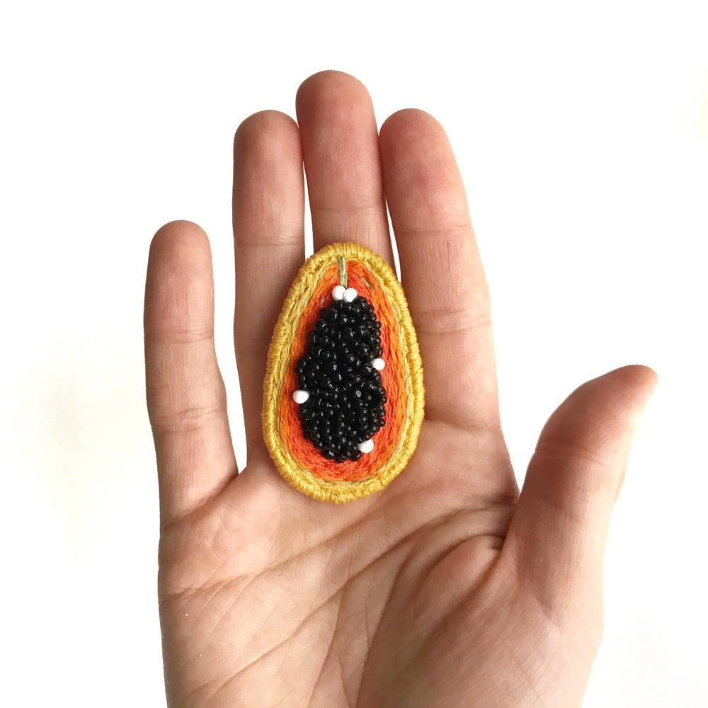Image of PAPAYA Brooch