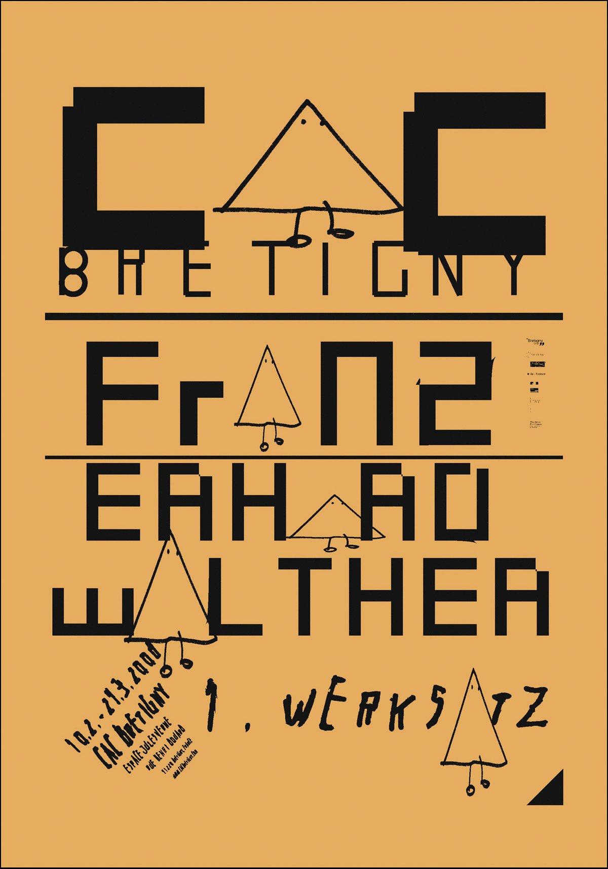"""FRANZ ERHARD WALTHER, <br>""""1. WERKSATZ."""""""