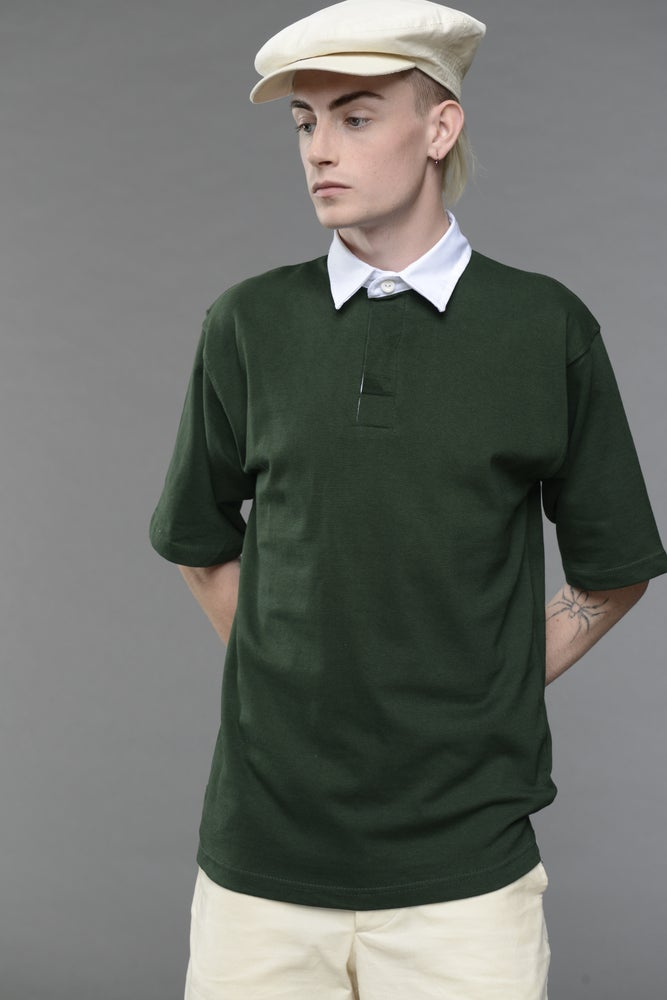 Image of English Rugby Shirt - Bottle £55.00