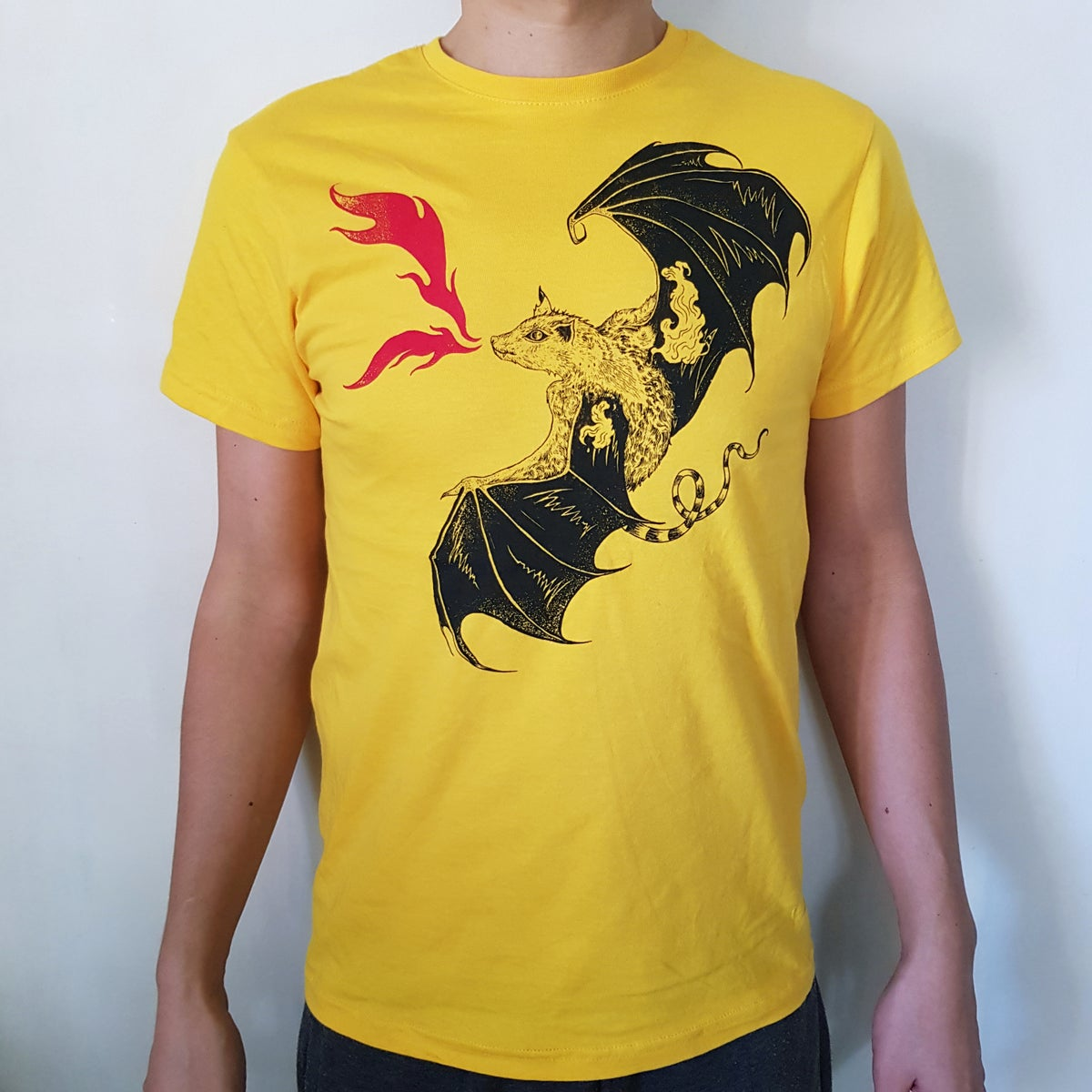 "T-SHIRT ""FIRE BAT"""