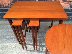 Poul Hundevad nest of tables