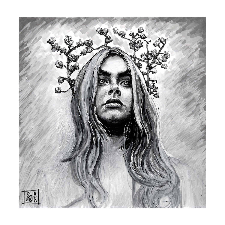 Angel Giclée Print