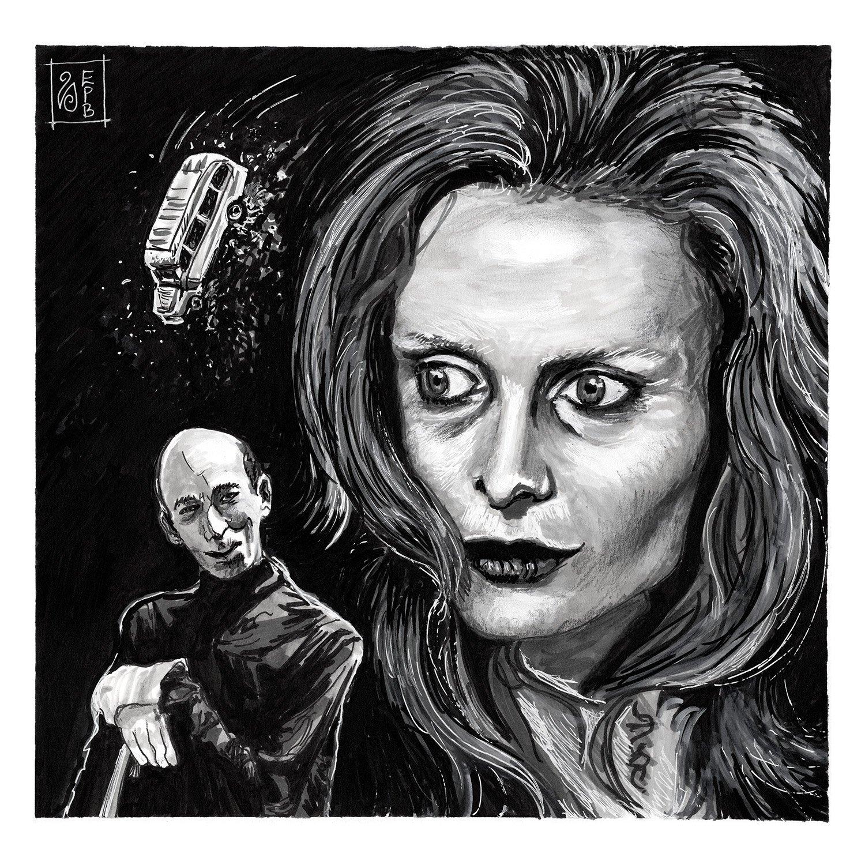 Lisa and the Devil Giclée Print