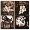 Halloween - Set of Four Giclée Prints