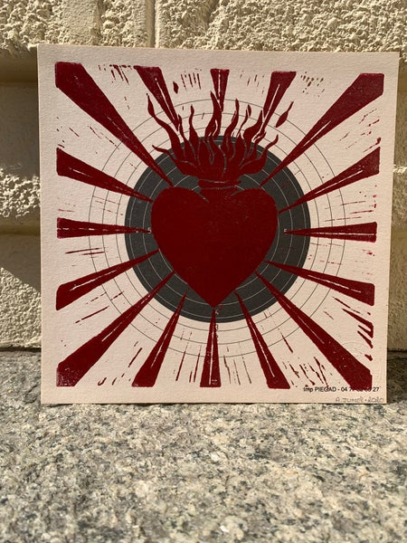 """Image of """"Straight To The Heart"""" RED 1/20"""