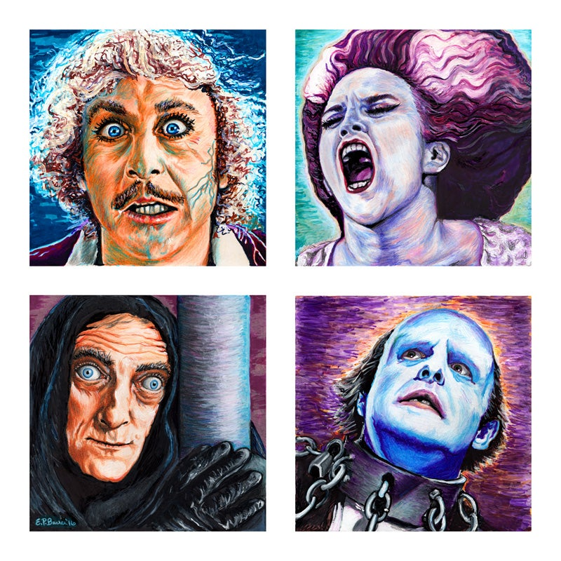 Young Frankenstein Giclée Print
