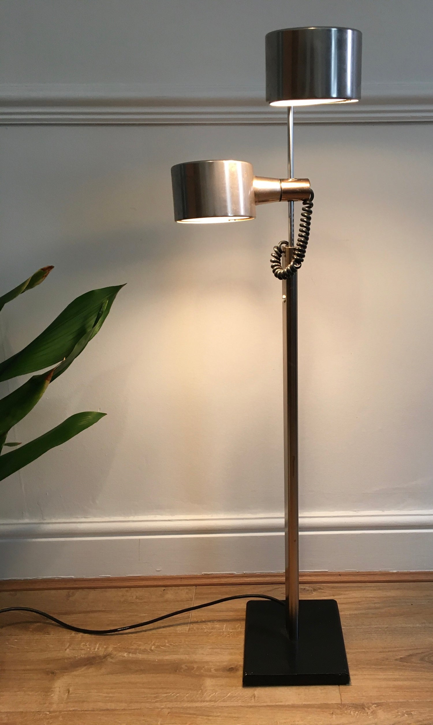 Chrome anglepoise lamp