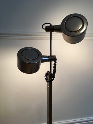 Chrome anglepoise lamp