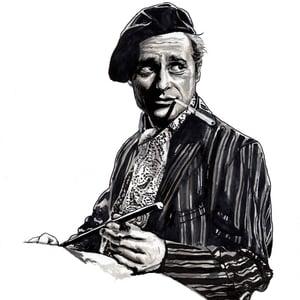 Walter Original Ink Drawing