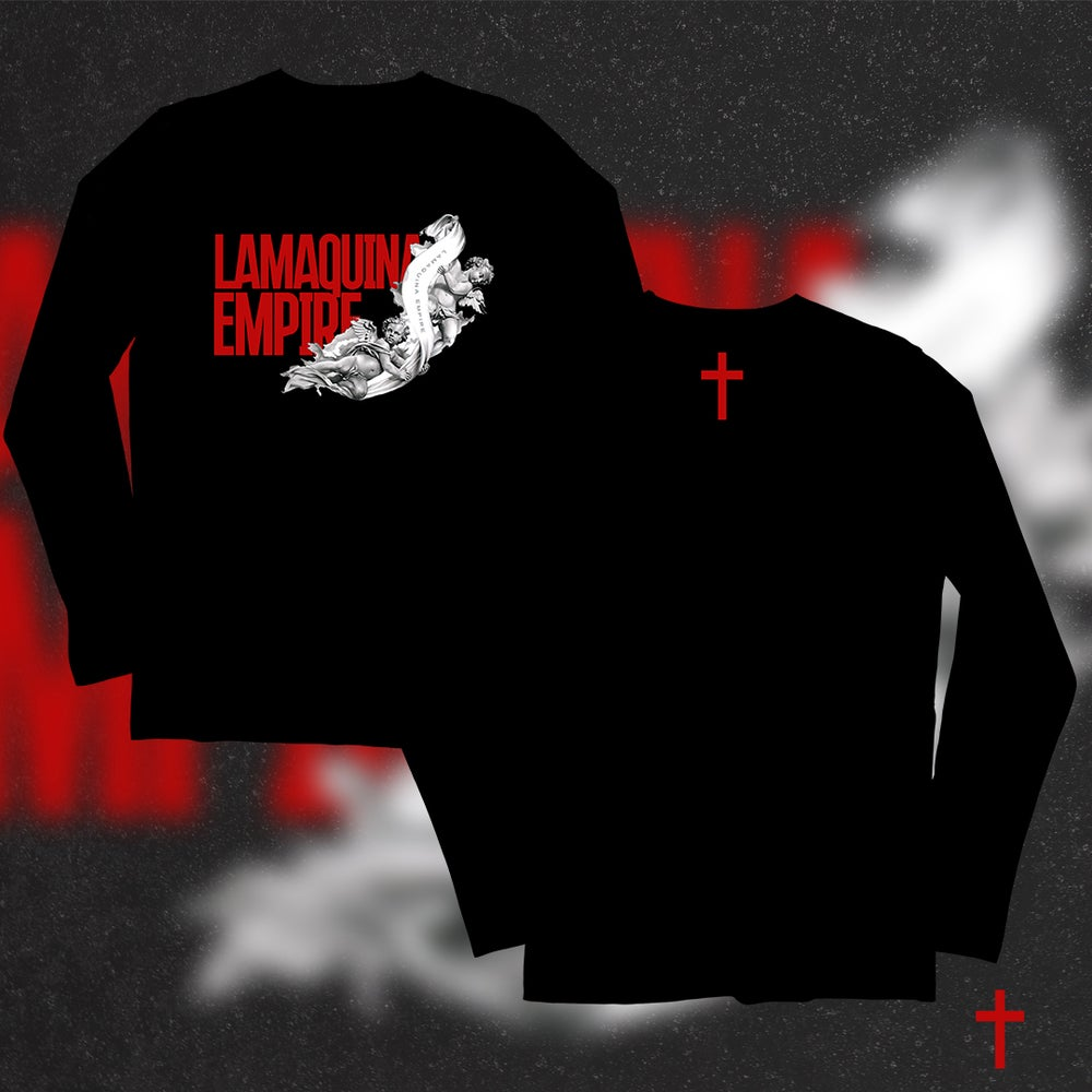 "Image of Limited Edition ""LaMaquina Angel"" Black LongSleeve"