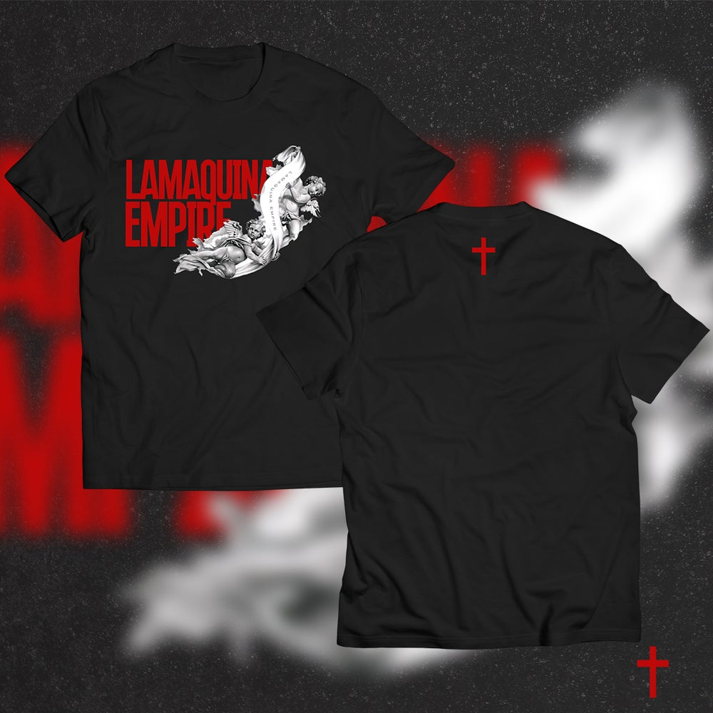"Image of Limited Edition ""LaMaquina Angel"" Black T-Shirt"